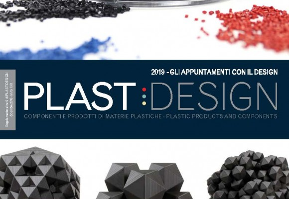 FILOALFA® on the PLAST DESIGN cover