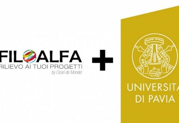 FILOALFA e l'Università di Pavia insieme per la stampa 3D
