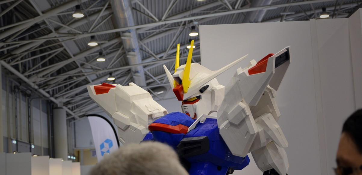 Un Gundam di 2 metri per la MakerFaire