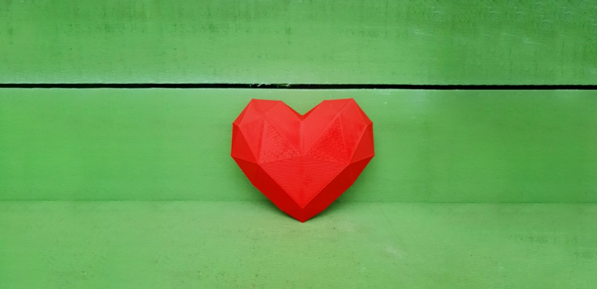 Heart Sculpture for Hope