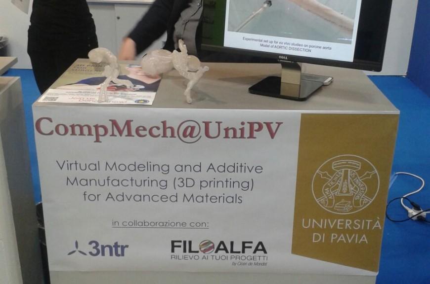 Grazie alla collaborazione con l'Università di Pavia siamo presenti al PLAST 2015!